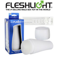 Masturbatore uomo FLESHLIGHT Classic Flight White intimate Superskin masturbator