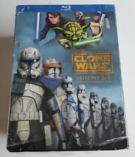 STAR WARS THE CLONE WARS COFFRET BLU-RAY SAISONS 1 - 5 EDITION COLLECTOR