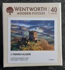 Wentworth Wooden Jigsaw Puzzle. 40 pieces. Dolwyddelan Castle