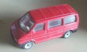 Siku VW window van red 0820 etc plastic base
