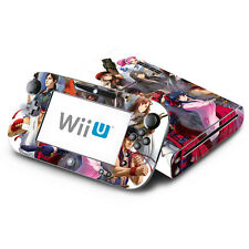 Skin Decal Cover for Nintendo Wii U Console & GamePad - Project X Zone