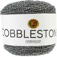 Lion Brand Cobblestone Yarn Licorice 023032056197