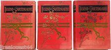Jugend-Gartenlaube Band 13+22+24 Herausgegeben von Otto Albrecht Leipzig v.1903