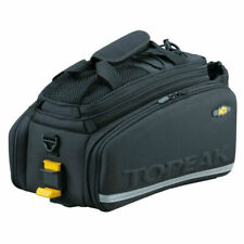 Topeak MTX TrunkBag DXP Rear Rack Mount Expandable Bike Bag - With Bottle Holder