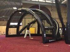 AIR TIGHT INFLATABLE BASEBALL SOFTBALL BATTING PITCHING BACKSTOP 23'X16'X13'