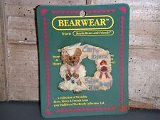 Boyds Bears 1999 ~Bailey.Carpe Diem~ Bearwear Pin Style# 26118
