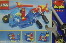 Lego Duplo Toolo Flugzeug  Flieger Action Wheelers Helicopter Hubschrauber 2925