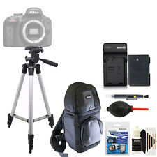 Tall Tripod + Replacement EN-EL14 Battery + Screen Protector + 3pc Cleaning Kit