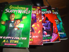 4 Goosebumps Most Wanted Books-1 & 2-and 2 Slappyworld Books-2 and -3