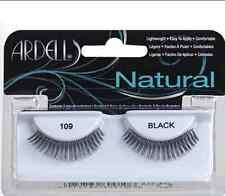 (LOT OF 10) Ardell Natural #109 False Fake Eyelashes Fashion Lashes Black Short