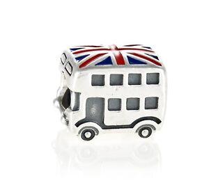 Genuine Genuine Silver London Bus Charm 791049ER