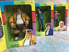 "Austin Powers Figures Fat Man, Austin Powers & Dr Evil 9"" McFarlane with boxes"