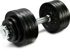 52.5lb total Adjustable Dumbbell with Cast Iron Weights YES4ALL *Ships Fast*
