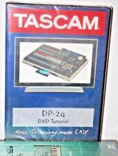 Tascam DP24 VIDEO DVD aider tutoriel entraînement leçon