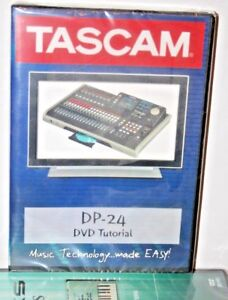 Tascam DP04 dp08 video dvd help tutorial training lesson