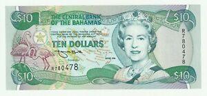Bahamas 1996 10 Dollars P.59 UNC