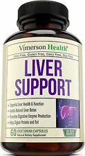 Liver Support Supplement to Cleanse & Detox - Natural Herbal Blend Made in USA