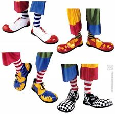 PROFESSIONAL - 1 of 4 styles CLOWN SHOES Accessory for Circus FunFair Parade Fan