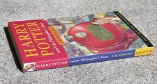 Harry Potter and the Philosopher's Stone 1st edition 3rd printing PB Bloomsbury