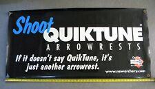 New Archery Products Quiktune Arrowrest Banner