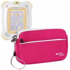 Pink Neoprene Cover/Case For Use W/ VTech Innotab 2 Baby w/ Front Storage Pocket