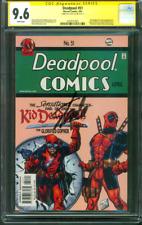 Deadpool 51 CGC 9.6 SS Stan Lee Auto Detective Comics 38 Homage Kid Copycat