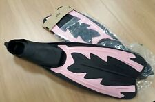 Scuba fins pink Typhoon brand new large 9-11 (43-44)