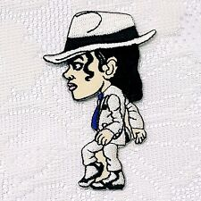 Michael Jackson King of Pop Music  Embroidery Patch Dance Applique Sew Iron On