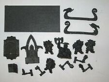 Warhammer Fantasy Dwarf King Thorgrim Grudgebearer Throne of Power metal OOP