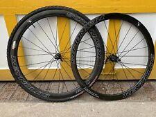 Reynolds Assault SLG Disc Carbon Tubular Wheels Quick Release QR Wheelset