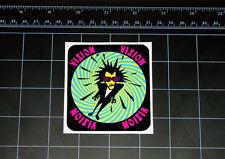 Vision PSYCHO STICK skateboard decal / sticker 80's skate VSW street wear pink