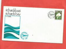 South Africa stamps. 1976 Richards Bay cover. With insert. Unaddressed.  (E822)