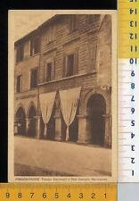 48222] PESARO - FOSSOMBRONE - PALAZZO STAURENGHI E SEDE BANCARIA MARCHIGIANA