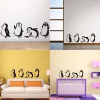 Penguin Refrigerator Sticker Fridge Decals Kitchen Vinyl Wall Stickers  so