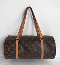 Louis Vuitton Papillon 30 Monogram Canvas Barrel Bag