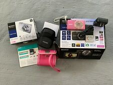 Sony Cybershot dsc-wx70 Bundle, pink, with charger, battery, SDHC card, cases