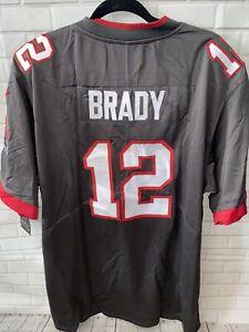 football jersey buccaneers #12  LIV superbowl brady Xxl 2xl Stitched