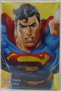 SUPERMAN BY DC 3.4 OZ / 100 ML EDT SPRAY NIB FOR BOY KIDS TODDLER PERFUME