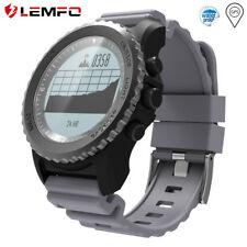 LEMFO S968 Smart Watch Bluetooth GPS Waterproof Activity Tracker For Android iOS