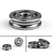 2x Radialkugellager U604ZZ Bearing U-Nutprofil Pulley4x13x4mm Pour 3D Imprimante