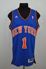 Stoudemire #1 New York Knicks NBA shirt ADIDAS 2011 2012 Jersey Adult Sz S