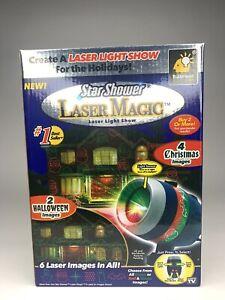 Star Shower Laser Magic Holiday Projector Laser Light Show Christmas & Halloween