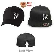 DEER BOW HUNTING BUCK Flex Fit HAT CURVED or FLAT BILL *FREE SHIPPING in BOX*