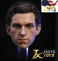 1/6 Tom Holland head sculpt for Spider-Man The Avengers hot toys phicen ❶USA❶