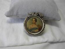 Locket Sweden Sterling Silver 1880 Pearls Antique Victorian 2 Sides Scandinavian
