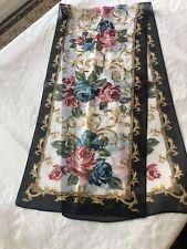 vintage scarf silk 1358�