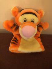 "Disney Tigger From Winnie The Pooh Plush Hand Puppet 8"""