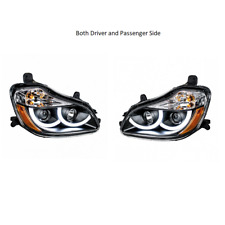 2013-18 Kenworth T680 Blackout Projection Headlights with LED Position Light