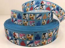 Sale 5 Yards 1 Inch Printed Disney Hercules Movie Cartoon Grosgrain Ribbon  Lisa