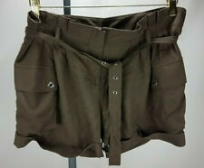 Michaels Kors women cargo brown shorts size 6